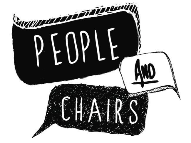 People and Chairs