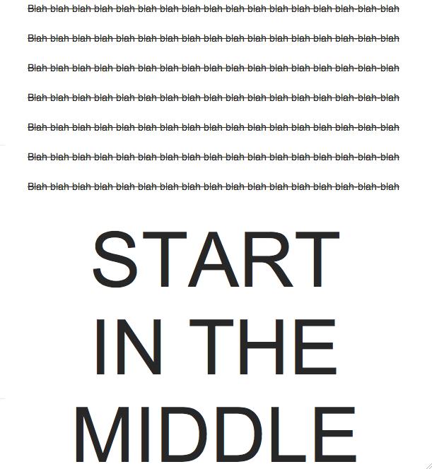 StartInTheMiddle